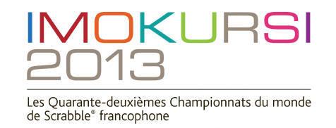 Championnats du monde de Scrabble francophone 2013