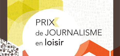 Prix de Journalisme en Loisir 2015