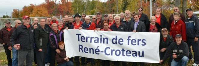 Place au Terrain de fers René-Croteau